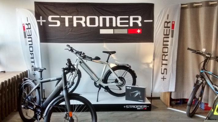 Stromer e-Bikes in der e-motion e-Bike Welt Herdecke
