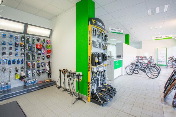 e-Bike Zubehör und Ersatzteile in unserem Shop in Olten