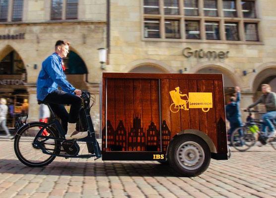 e-motion Münster liefert die ersten 1500 Urban Arrow Tender Lasten e-Bikes aus
