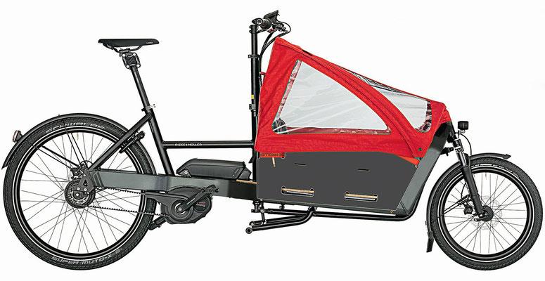 Lasten und Cargo e-Bikes in der e-motion e-Bike Welt Karlsruhe