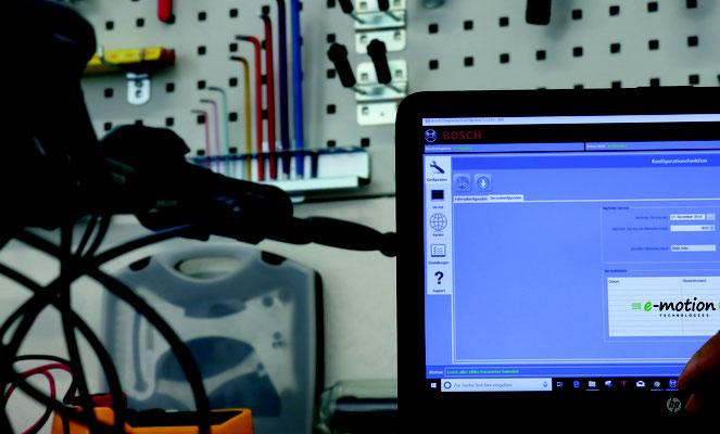 Werkstatt Service in Ihrer e-motion e-Bike Welt Moers