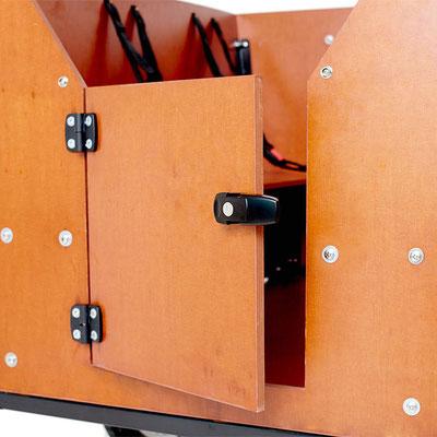 Babboe Max-E Lastenfahrrad 2020 mit verschließbarer Tür