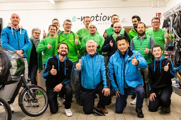 SHIMANO Schulung in der e-motion e-Bike Welt Stuttgart