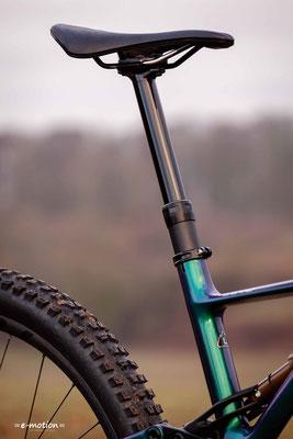 Das Turbo Levo ist auch für kleinere Fahrer geeignet, die meist Abstand nehmen von großen Laufrädern.