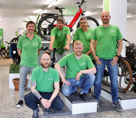 e-Bikes leasen - Team in Berlin-Steglitz