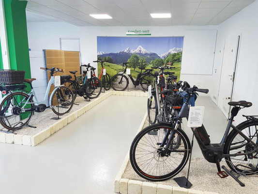 Über City e-Bikes von unseren Pedelec Experten beraten lassen