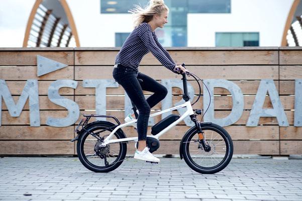 Riese & Müller Tinker Kompakt e-Bike blau 2020