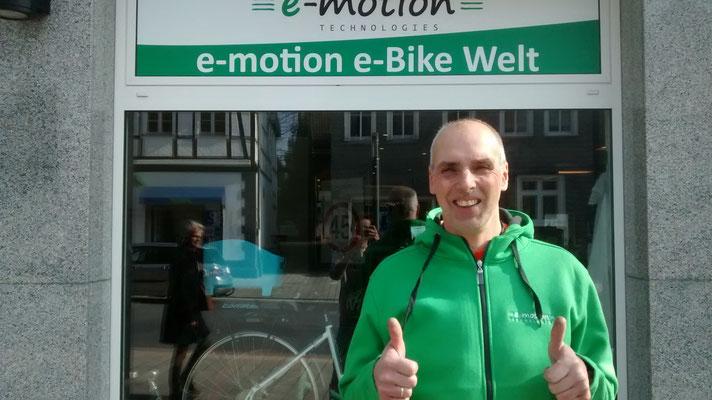 André Walter, Inhaber e-motion e-Bike Welt Herdecke