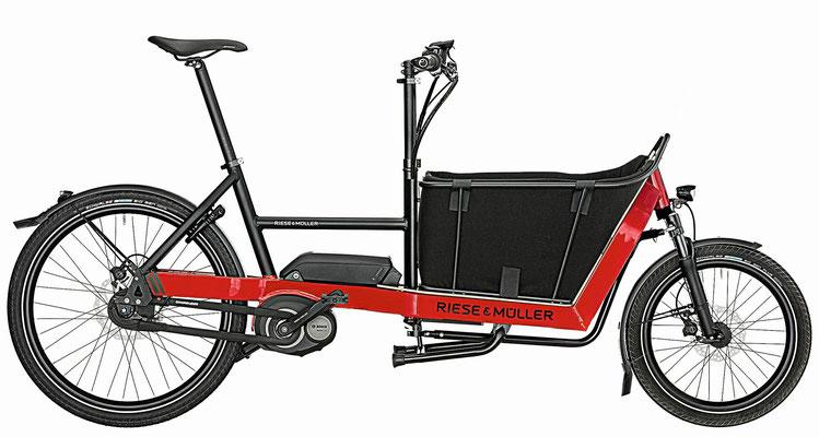 Lasten und Cargo e-Bikes in der e-motion e-Bike Welt in Wiesbaden