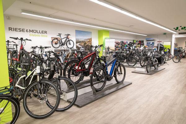 Riese & Müller Erlebnisstore in der e-motion e-Bike Welt Münster