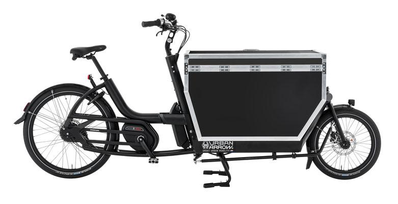 verschiedene Lasten e-Bike Modelle in der e-motion e-Bike Welt in Berlin-Mitte