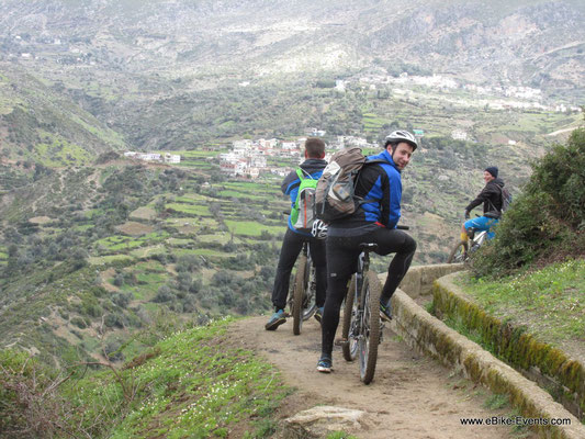 Mit dem e-Mountainbike durchs marokkanische RIF Gebirge