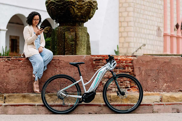 Liv AMITI E+1 e-Bikes in der e-motion e-Bike Welt in Frankfurt