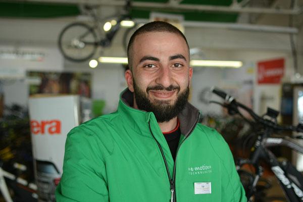 e-Bike Experten in der e-motion e-Bike Welt Saarbrücken