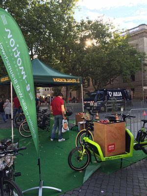 Großes Interesse an e-Bikes auf dem Braunschweiger Trendsporterlebnis