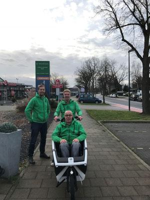 Jetzt NEU in Düsseldorf  Lastenfahrrad Urban Arrow