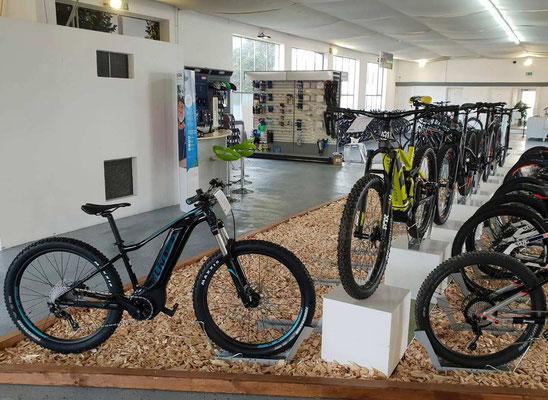 e-Mountainbike Probefahrten in der e-motion e-Bike Welt Karlsruhe