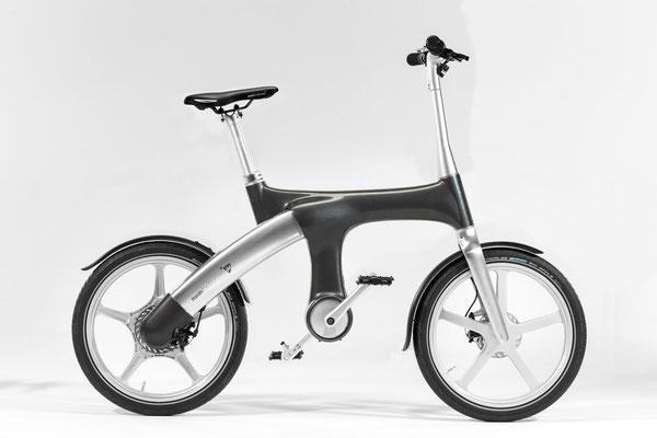 Mando Footloose IM e-Bike - dunkelgrau