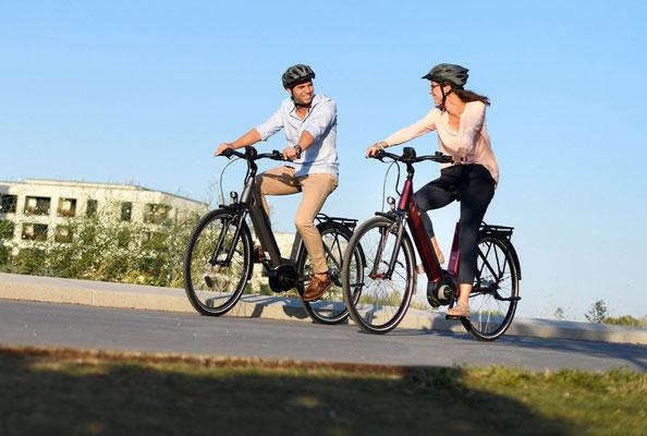 Mit dem e-Bike in die Natur: Ab März auch am Kleinen Brombachsee
