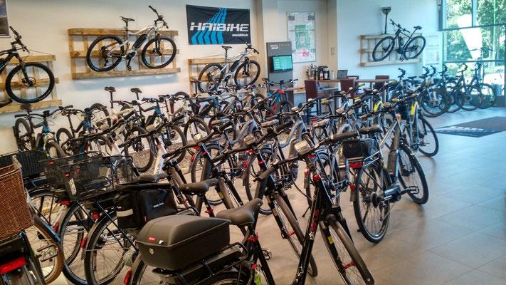 Großer e-Bike Händler in Nürnberg