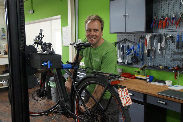 Die e-motion e-Bike Welt in Lübeck führt auch Riese & Müller e-Bikes