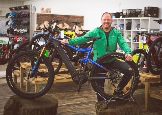 Wir beraten Sie gerne in der e-motion e-Bike Welt St. Wendel