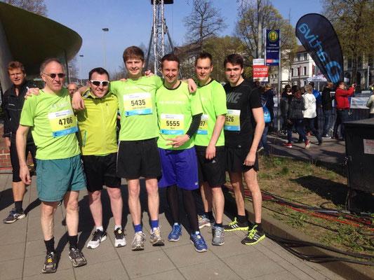 e-motion e-Bike Team beim Halbmarathon in Hannover