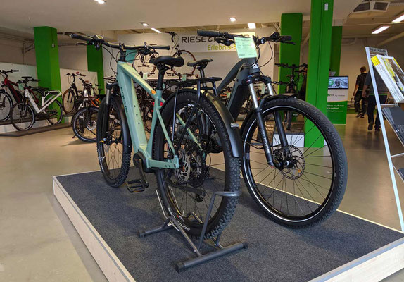 große e-Bike Markenauswahl in der e-motion e-Bike Welt Göppingen
