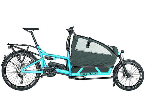 Lasten und Cargo e-Bikes in der e-motion e-Bike Welt in Würzburg