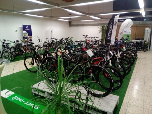 Die e-motion e-Bike Welt in Ravensburg führt auch Riese & Müller e-Bikes