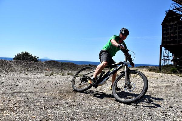 Trailfahrten auf Elba mit dem Haibike XDURO AllMnt RX