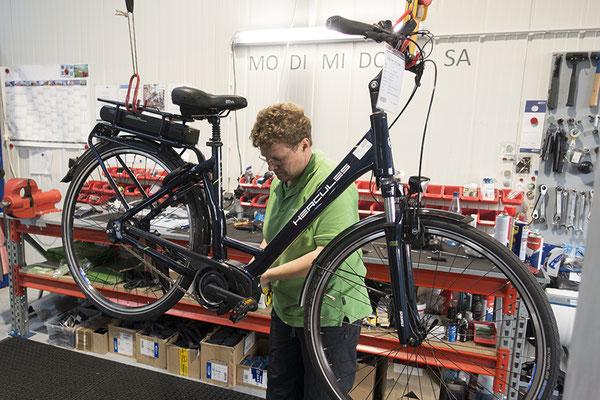 Impressionen aus unserer e-motion e-Bike Welt Bad Zwischenahn