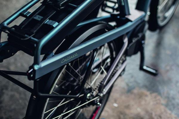 leistungsstarker Bosch Motor bei Riese und Müller e-Bikes in der e-motion e-Bike Welt Freiburg Süd