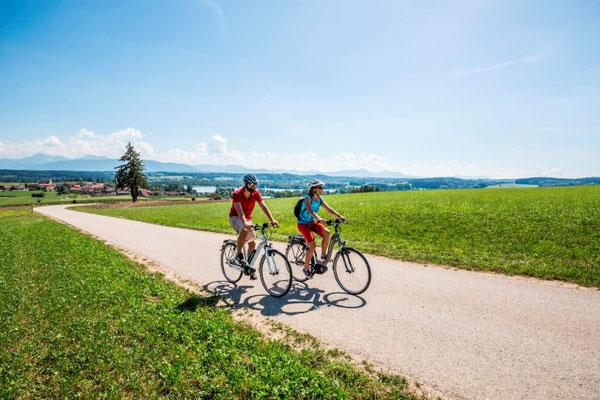 e-Bike Fahren hält gesund und senkt das Herzinfarkt Risiko