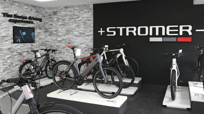 Stromer e-Bikes in der e-motion e-Bike Welt Dietikon probefahren und kaufen