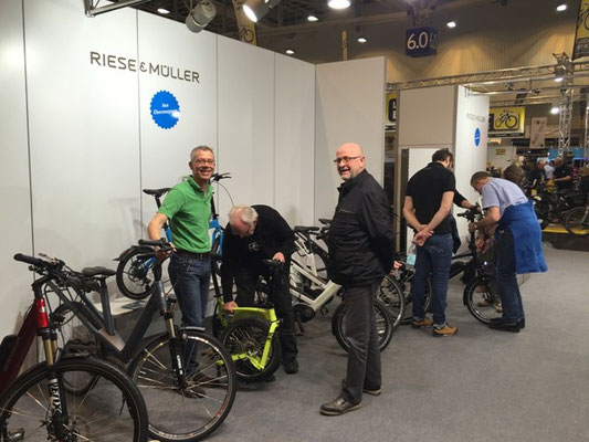"""e-motion Düsseldorf auf der Radmesse """"Fahrrad Essen"""""""