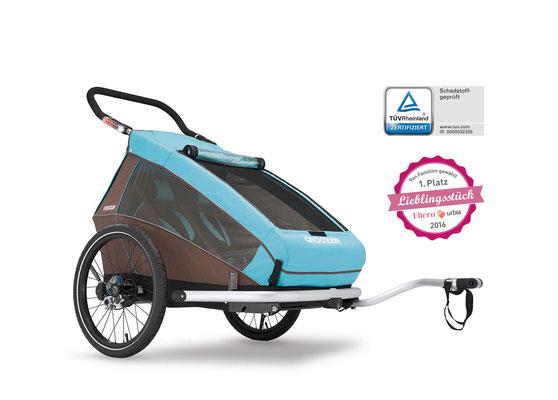 Zubehör finanzieren mit der e-motion e-Bike 0%-Finanzierung Croozer Fahrradanhänger in der e-motion e-Bike Welt Kleve