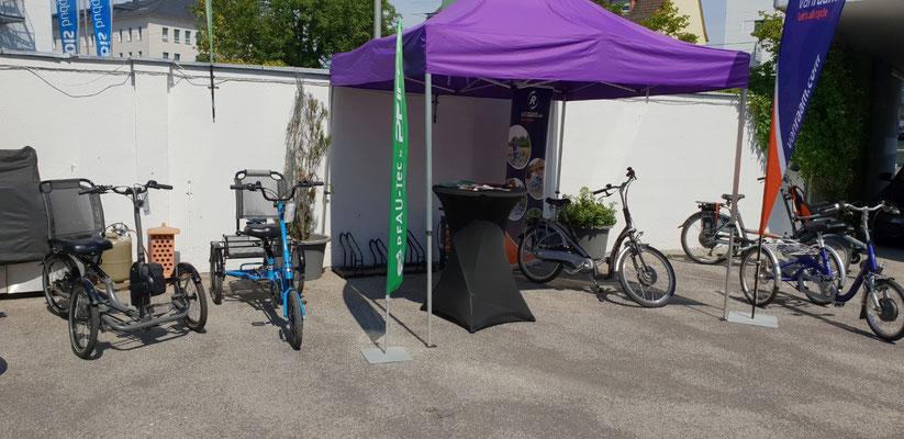 Erfolgreiche Dreirad Mobilitätstage in Saarbrücken