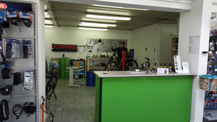 Der Werkstattausbau ist abgeschlossen