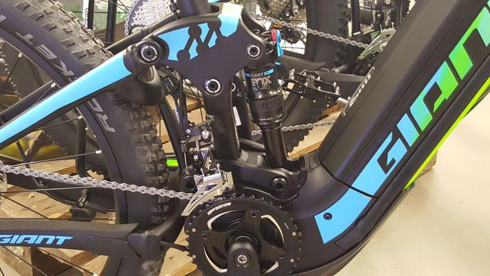 Giant e-Mountainbikes 2017