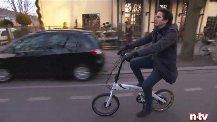 Berliner e-Bike Experten auf n-tv
