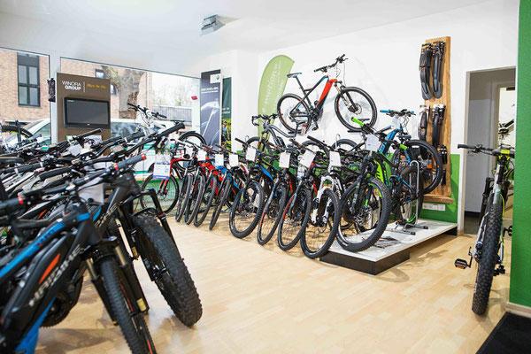 große Markenauswahl in Köln und Umgebung bei den e-Bike Experten in Köln von e-motion Technologies