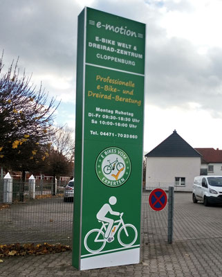 Große Trekking e-Bike Auswahl in der e-motion e-Bike Welt in Cloppenburg