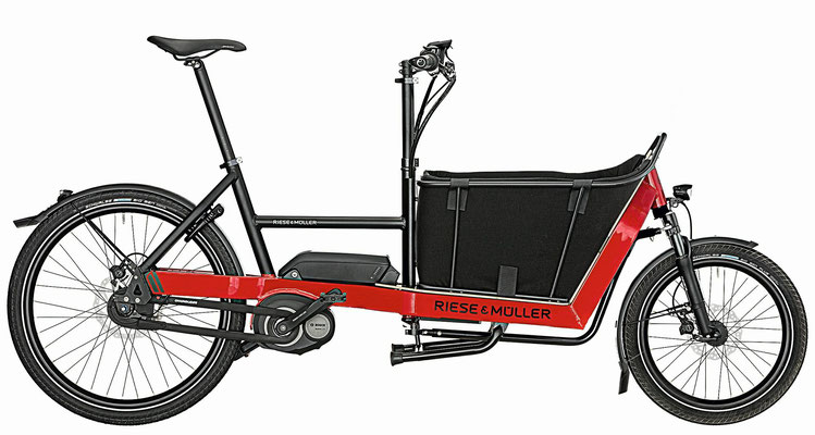Lasten und Cargo e-Bikes in der e-motion e-Bike Welt in Tuttlingen