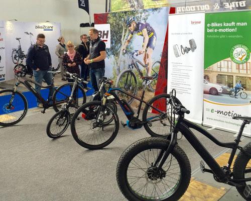 Velo Berlin mit der e-motion e-Bike Welt Berlin-Steglitz