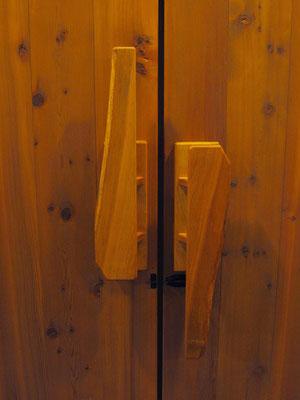 ギャラリー入口扉(内側)-ドアハンドル