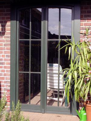 Terrassenfenster aus eigener Fertigung
