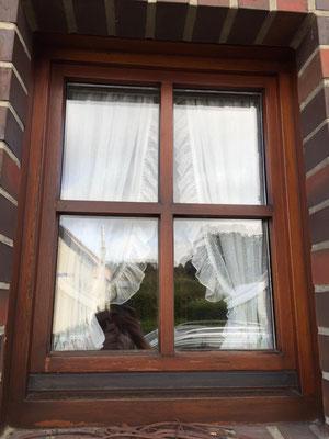 Fenster- u. Türen-Service: vorher