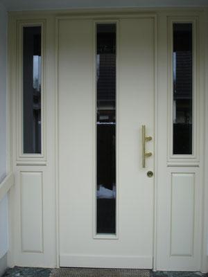Haustür aus eigener Fertigung