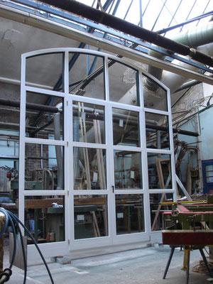 Holzfenster aus eigener Fertigung - Sonderanfertigung